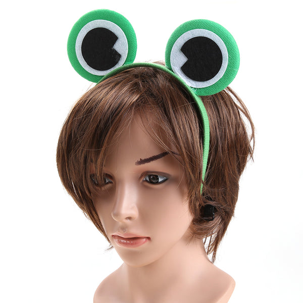 Green Cartoon Animals Frog Headband - kawaiimoristore