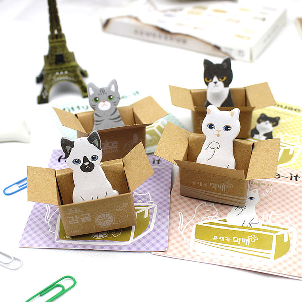 Cute Carton Cat Kitty Memo