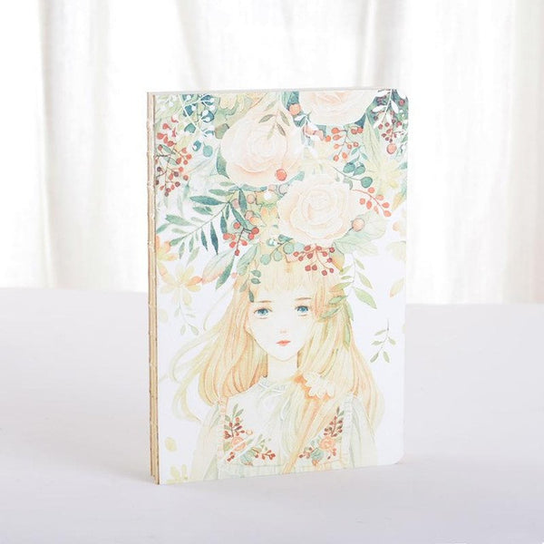 Beautiful Mori Girl Floral Notebook KW1710816