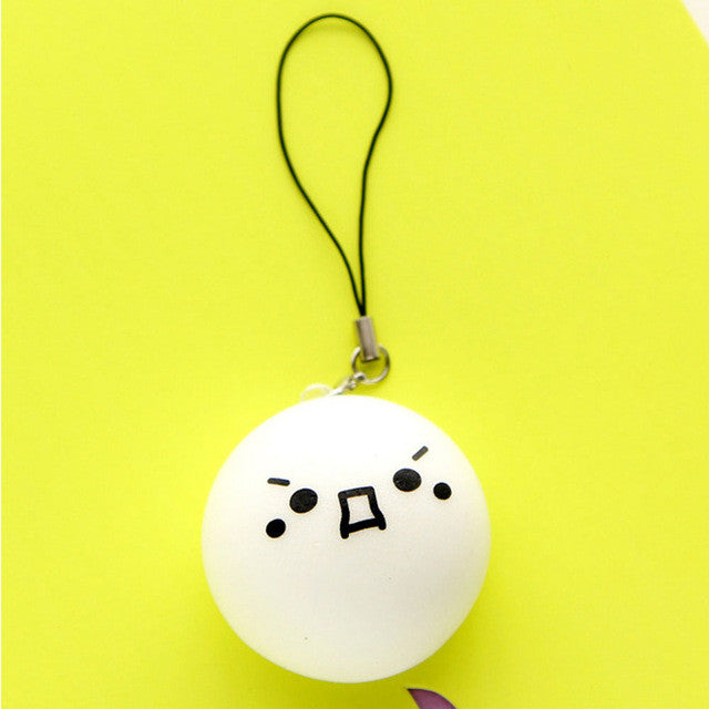 Cute Emoji Soft Silicone Toy