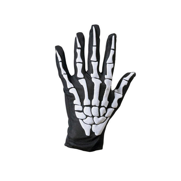 Halloween Skull Skeleton Gloves
