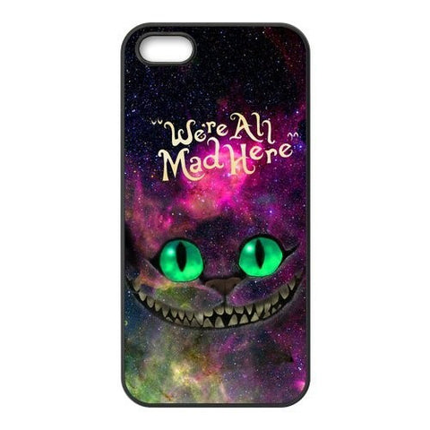 Alice in Wonderland Nebula for Galaxy Space Cheshire Cat Phone  Case