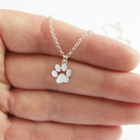 Cats Paws Print Necklace KW179130