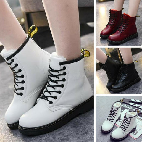 3 Colors Fashion Warming Fleece Boots KW168144