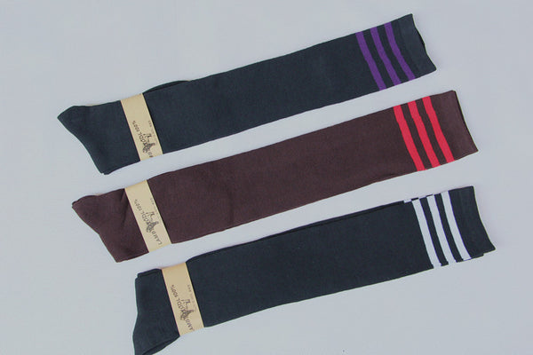 8 Colors Stripes Thigh High Over Knee Socks SP153576 - SpreePicky  - 12