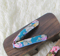 4 colours Japanese Kimono Clogs Shoes KW153601