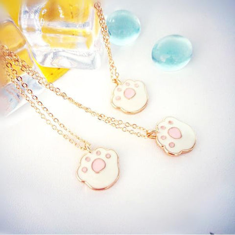 Adorable Cat Paw Necklace