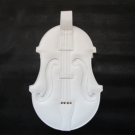 Brown/White/Black Lolita Violin Bag