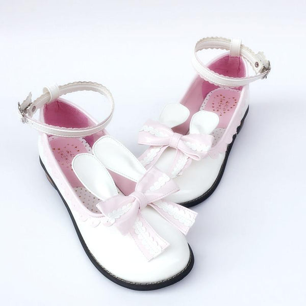 Custom Made Lolita Bunny Rabbit Ear Shoes KW167645