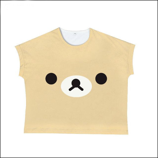 Cute Bear Tee Shirt KW179632