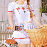 Harajuku Strawberry 4 piece Swimsuit (swim suit) KW179103