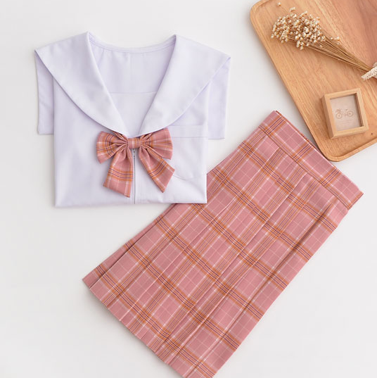 Japanese Kawaii sStudents JK Uniform Shirt + Skirt + Bow tie + Stockings suit