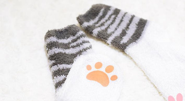 Kawaii Kitty Cat Paw Socks KW165210
