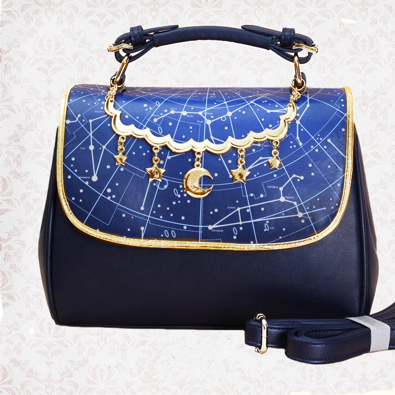 Astrology Handbag Shoulder Bag