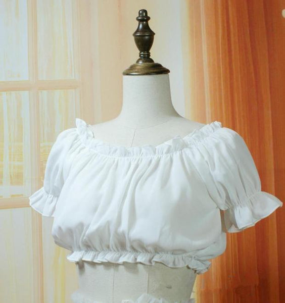 Lolita Princess Tube Top KW167949 - kawaiimoristore