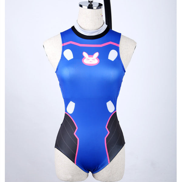 Overwatch D.VA Cosplay Swimsuit KW167864