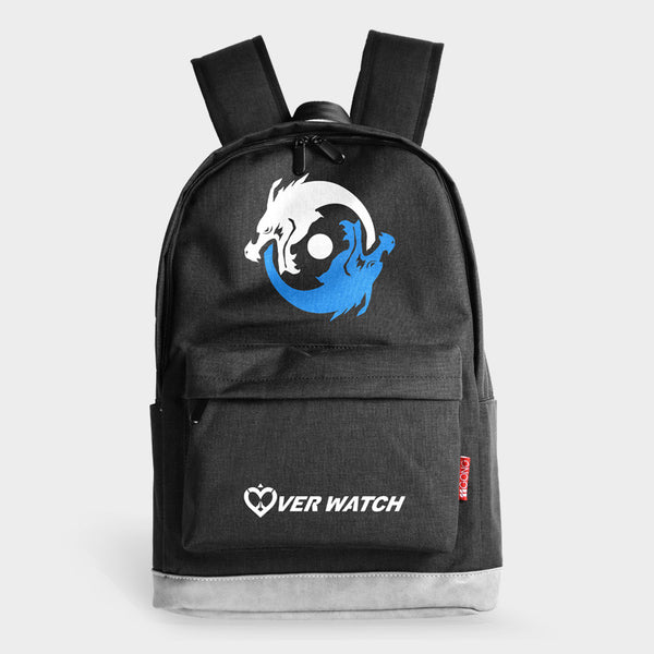 Overwatch D.Va Genji School Backpack