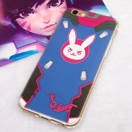 Overwatch DVA Phone Case For All phone model