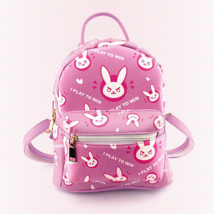 Pink Overwatch D.VA Backpack KW178766