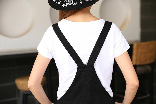 S-3XL Black Cutie Neko Kitty Cat Suspender Dress SP153320 - SpreePicky  - 7