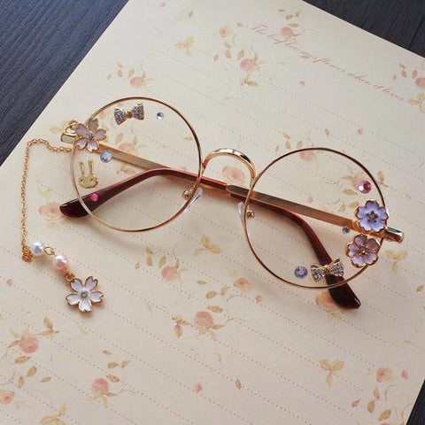 Sweet Elegant Lolita Glasses KW179567