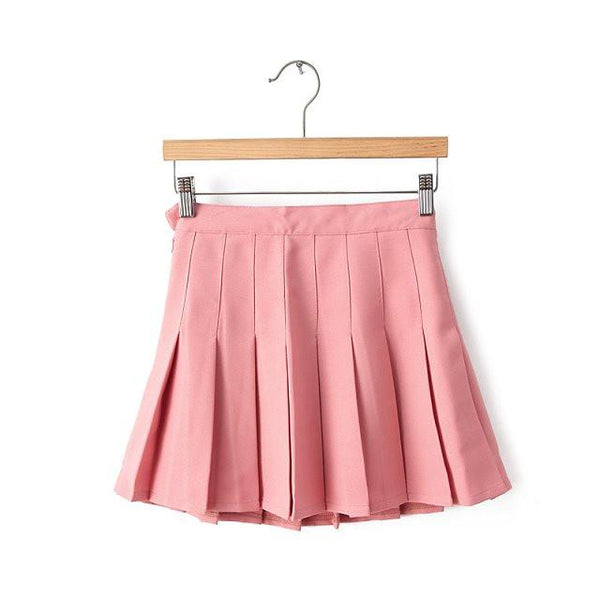 XS-L High Waist Pleated Tennis Pantskirt/Skirt SP153892 Page1 - SpreePicky  - 10