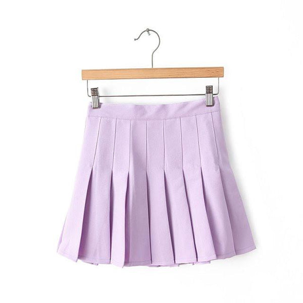 XS-L High Waist Pleated Tennis Pantskirt/Skirt SP153892 Page1 - SpreePicky  - 13