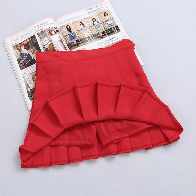 XS-L High Waist Pleated Tennis Pantskirt/Skirt SP153892 Page2 - SpreePicky  - 16