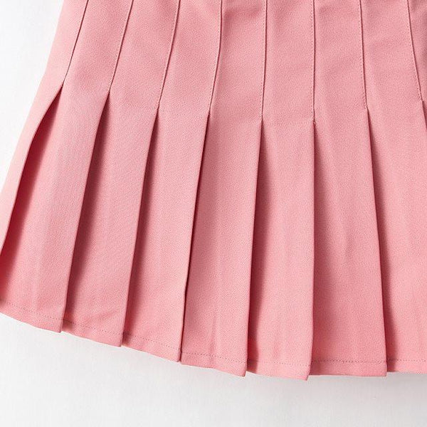 XS-L High Waist Pleated Tennis Pantskirt/Skirt SP153892 Page1 - SpreePicky  - 12