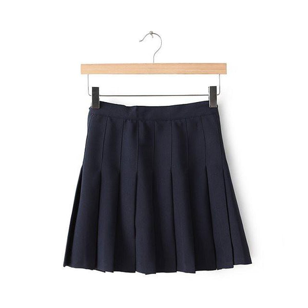 XS-L High Waist Pleated Tennis Pantskirt/Skirt SP153892 Page1 - SpreePicky  - 16