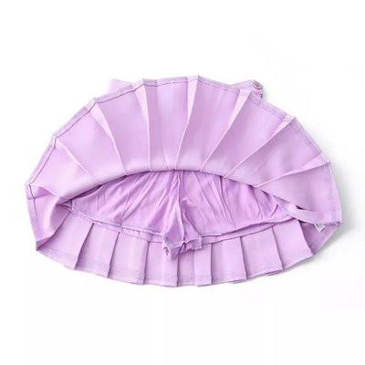 XS-L High Waist Pleated Tennis Pantskirt/Skirt SP153892 Page2 - SpreePicky  - 6