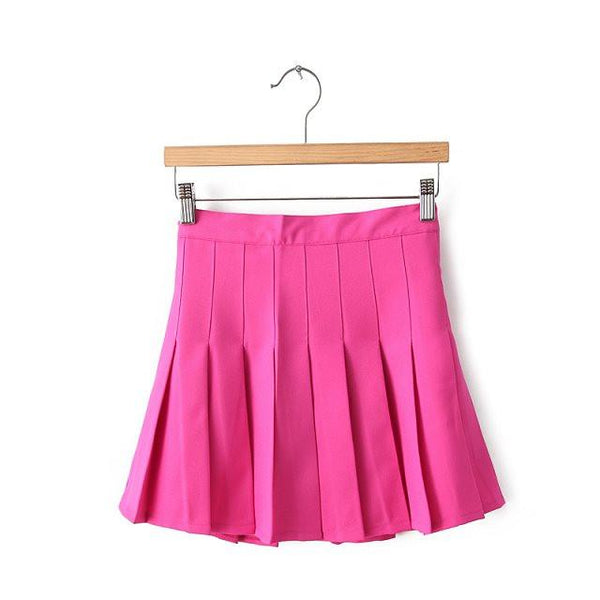 XS-L High Waist Pleated Tennis Pantskirt/Skirt SP153892 Page1 - SpreePicky  - 8