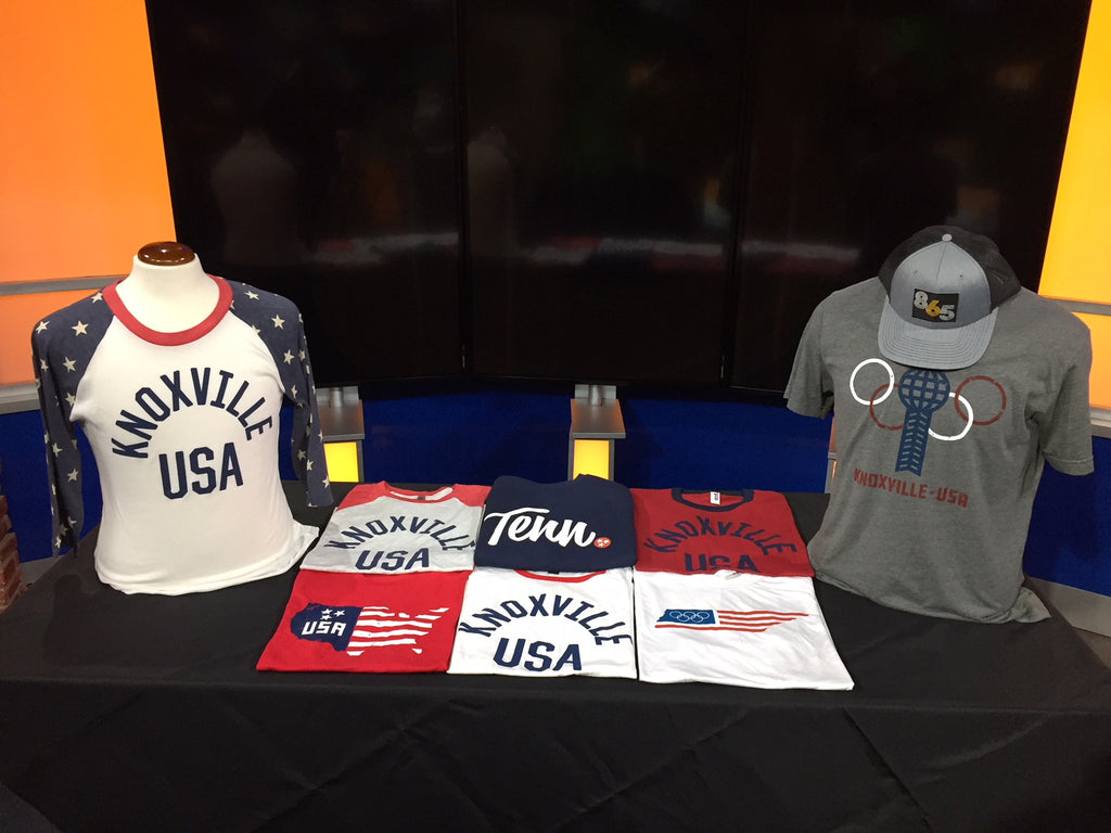 Online company shares locally inspired clothes with a USA theme