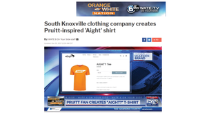 South Knoxville clothing company creates Pruitt-inspired 'Aight' shirt