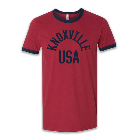KNOXVILLE USA (Red/Blue)