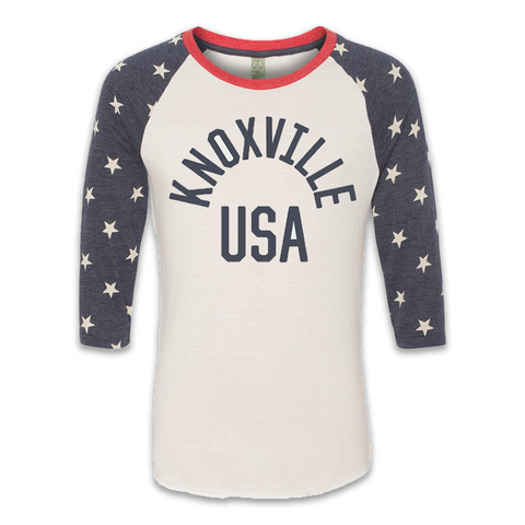 KNOXVILLE USA (Stars Raglan)