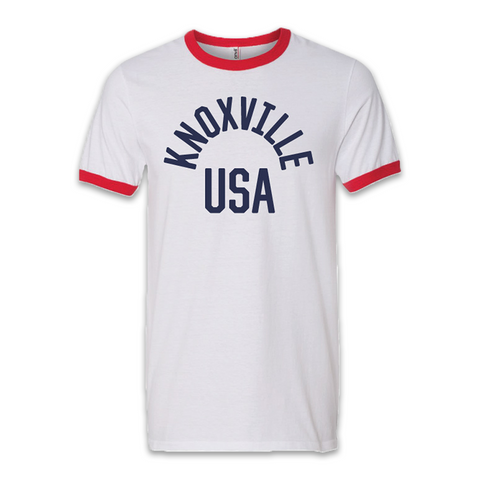 KNOXVILLE USA (White/Red)
