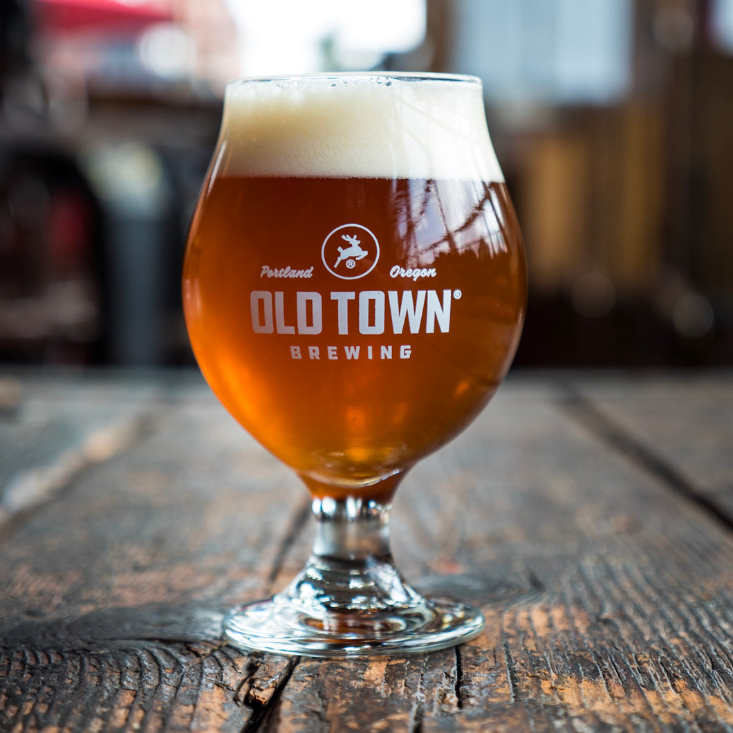 Old Town Belgian 13oz glass - 4 pack