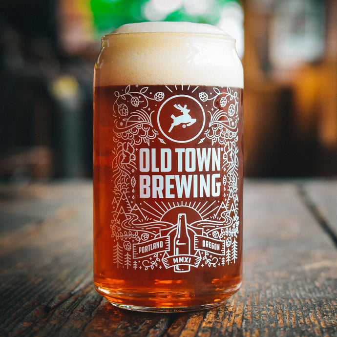 Old Town 16 oz Pint Glass - 4 pack