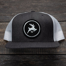 Premium Flat Bill Hat (Grey/White)