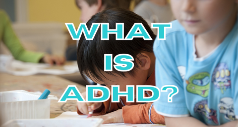 What is ADHD with child working behind