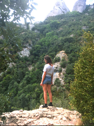 Hiking in Montserrat, Spain