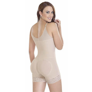 Braless Body Shaper With Lace Panty Shapewear