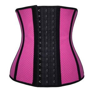 Breathable Latex Sport Waist Training Corset Body Shaper