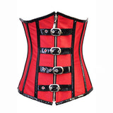 Fashion Retro Strong Satin Waist Trainer Underbust Corset