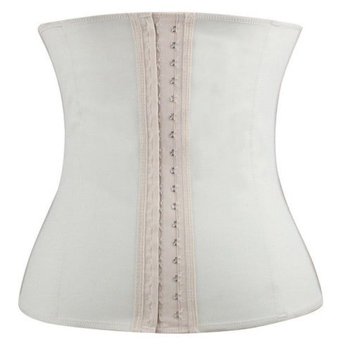 Latex Waist Training Rubber Cincher Shapewear Underbust Corset