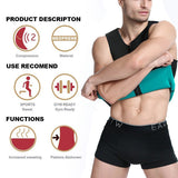 Waist Trainer For Men Reversible Neoprene Shapewear Workout Suit