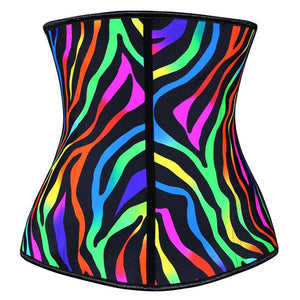 Waist Trainer Angel Curves Latex Workout Shapewear Corset