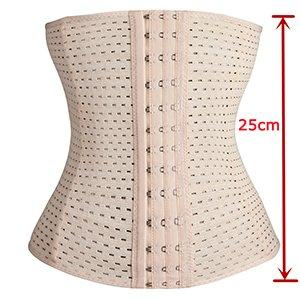 Ventilate Waist Trainers Hole Latex Waist Cincher