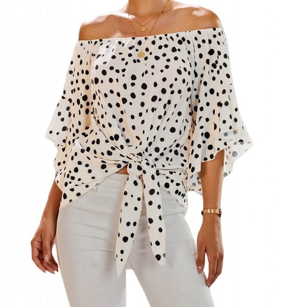 Cheeky Off-The-Shoulder Top